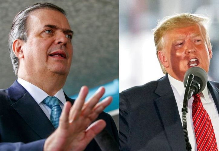 """Trump señaló que hay acuerdo secreto """"muy largo y muy bueno"""" con México. (Foto: AP)"""