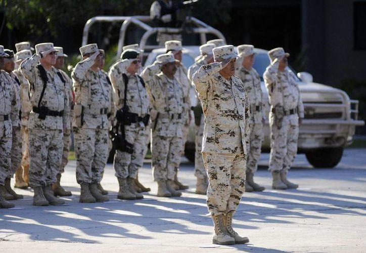 Un batallón de más de 600 elementos llegarán para cubrir todo el estado de Nuevo León. (Notimex)