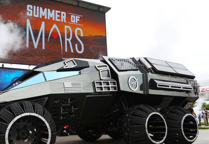 """La agencia espacial estadounidense destaca que nunca tocará suelo marciano, ya que su función es """"inspirar"""" a las nuevas generaciones. (NASA)"""