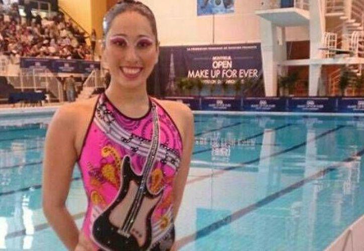 Una de las deportistas ganadoras de estos galardones es Karen Achach Ramírez, en nado sincronizado. (Milenio Novedades)
