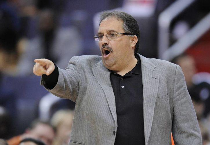 Van Gundy será presentado el jueves como nuevo entrenador de los Pistons. (AP)