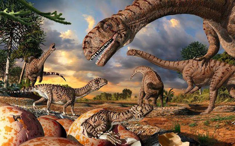 Resultado de imagen de Los dinosaurios y su extinción