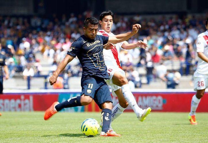 Con el triunfo ante el conjunto michoacano, los Pumas llegaron a ocho puntos en la clasificación general. (Facebook/Pumas MX)