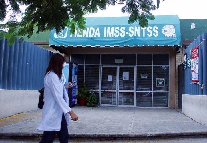 La tienda del IMSS en Mérida está ubicada en el Fénix. (Milenio Novedades)