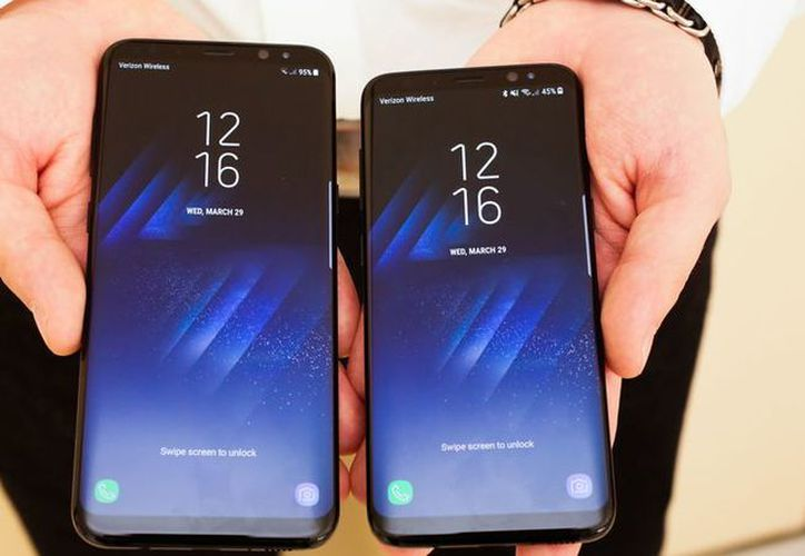 El Galaxy S8 tiene una pantalla de 5.8 pulgadas, y el modelo S8 Plus de 6.2 pulgadas. (Foto: Contexto/Internet)