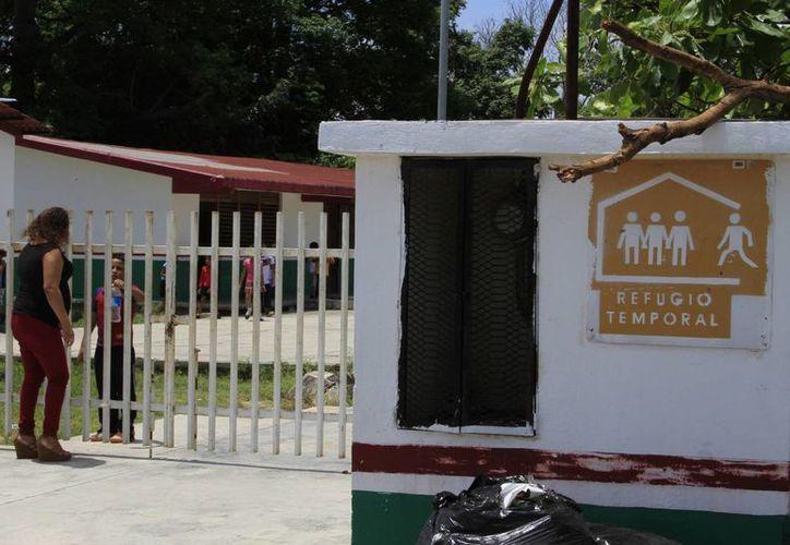 Protección Civil revisará las condiciones de los refugios anticiclónicos. (Ángel Castilla/SIPSE)
