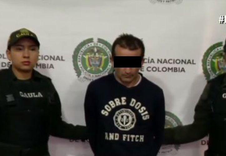 El presunto asesino quien labora como taxista, en Colombia. (Foto: Noticias Caracol)