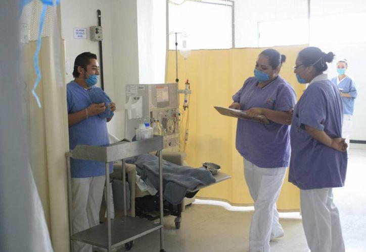Personal del hospital mencionó que todo depende de las autoridades correspondientes. (Harold Alcocer/SIPSE)