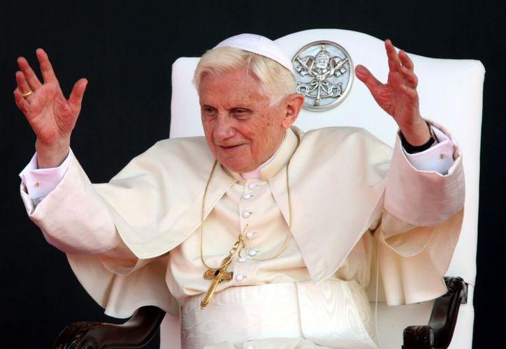 Benedicto XVI tiene interés en recuperar el latín. (Agencia Reforma)
