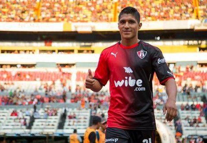 Cándido Ramírez había sido considerado en las convocatorias de Juan Carlos Osorio para los partidos de la Selección mexicana.(Foto tomada de Facebook/Atlas)