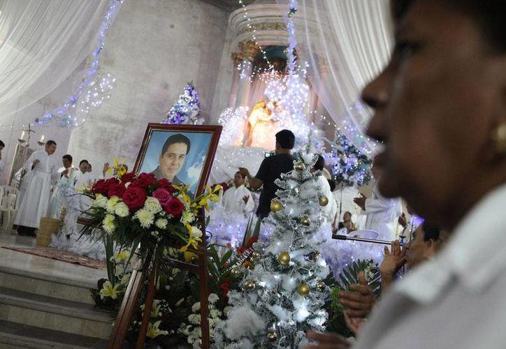 Hace unas semanas, el padre Gregorio Gorostieta fue hallado sin vida en una carretera. Pertenecía a la diócesis de Altamirano. (Foto: Revista Proceso)