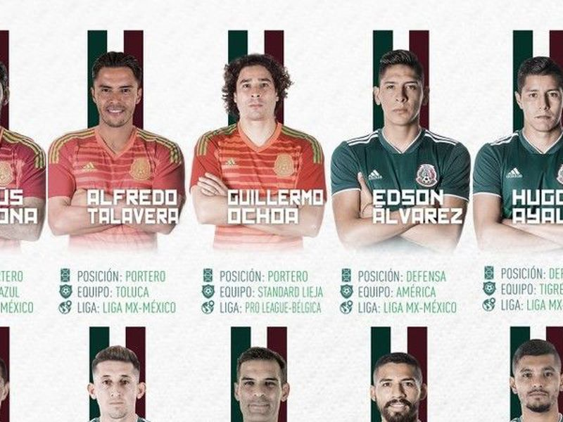 Revelaron la lista oficial de los 23 jugadores inscritos ante FIFA para el Mundial. (Twitter)