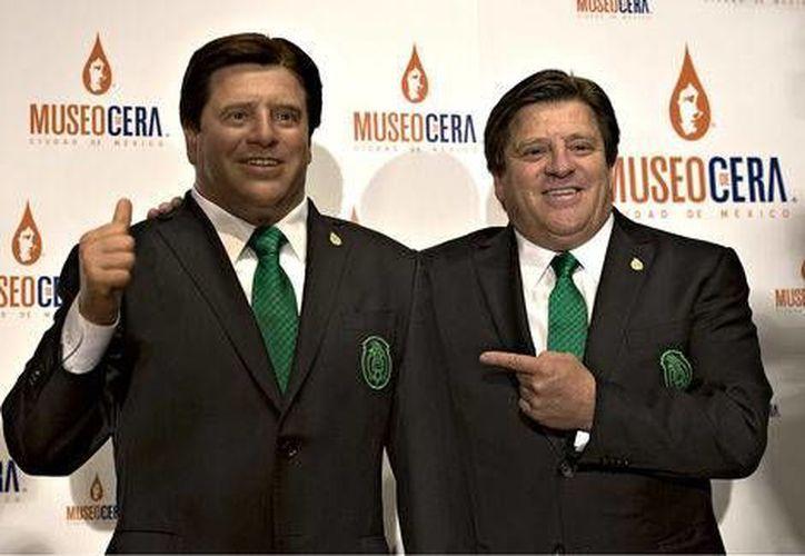 Miguel Herrera es el primer entrenador de una Selección Mexicana en formar parte del Museo de Cera de la Ciudad de México. (Mexsports.com)