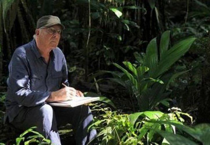 """El botánico es el autor del libro """"El buen uso de los árboles"""" . (Redacción/SIPSE)"""
