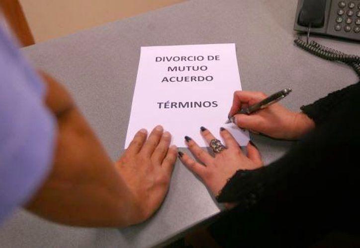 Cada vez más yucatecos se divorcian en la entidad. (Imagen tomada de peru.com)