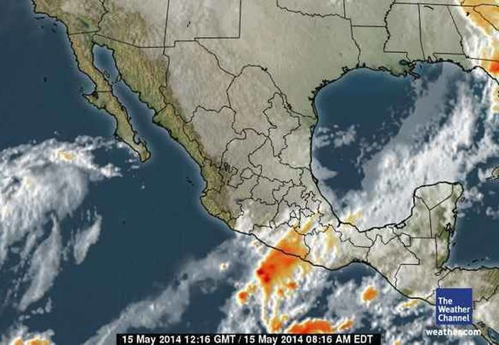 Se prevé que las precipitaciones sean intensas en Quintana Roo. (Foto/espanol.weather.com)