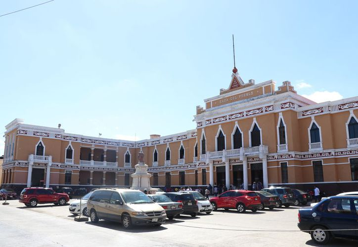 Casa del Pueblo, sede estatal del tricolor. (Daniel Sandoval/Novedades Yucatán)