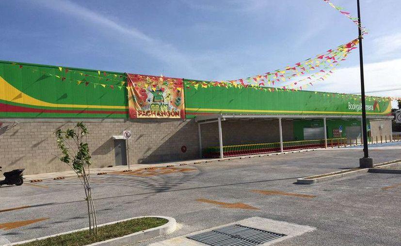 La tienda Bodega Aurrera Norte con sede en Chetumal abrirá sus puertas en próximos días. (Cortesía)