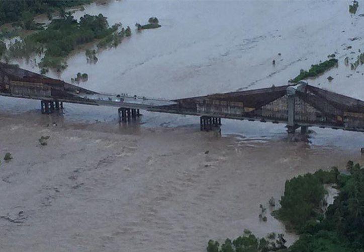 Alertan a guerrerenses por el posible desborde de ríos, tras las intensas lluvias de los últimos días. (Foto: Vanguardia)