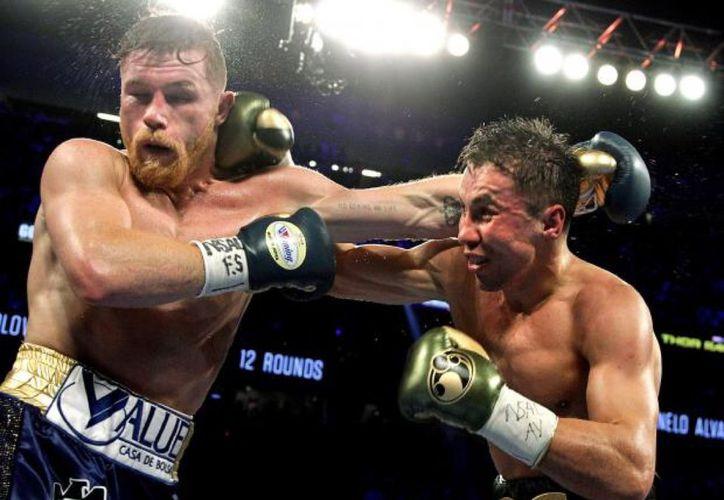 El 15 de septiembre ambos boxeadores se volverán a ver las caras en Las Vegas. (Vanguardia MX)