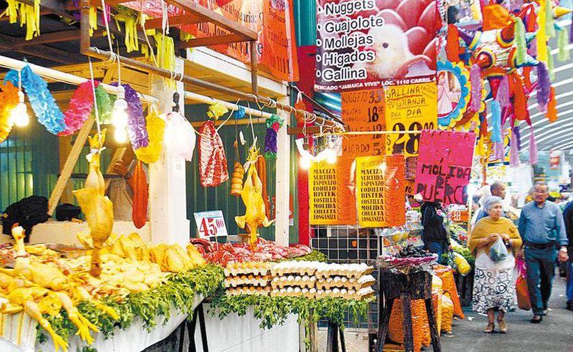 Confianza en que las calles y los tianguis estén repletos de clientes. (Nelly Salas/Milenio)