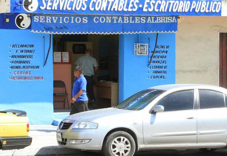El Colegio de Contadores Públicos reporta sólo 107 profesionistas certificados. (Ángel Castilla/SIPSE)