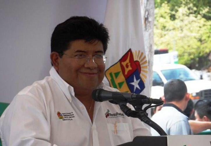 Secretario de infraestructura y transporte, Fernando Escamilla Carrillo. (Redacción/SIPSE)