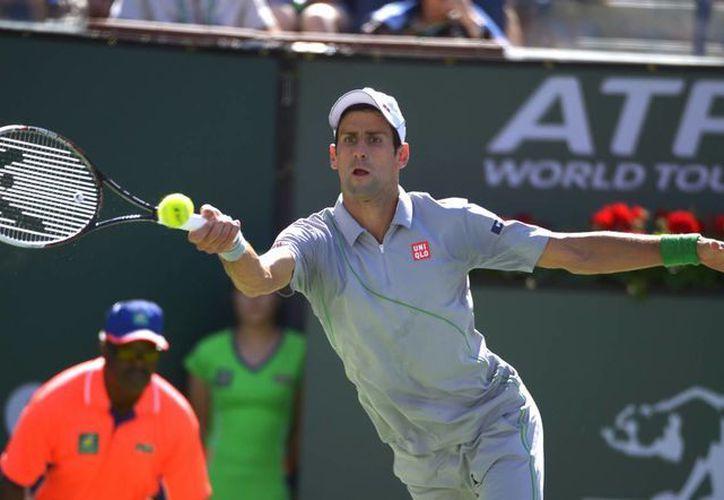 Los únicos tenistas que quedan con vida en Indian Wells son Djokovic, Dolgopolov, Isner y Federer. (Agencias)