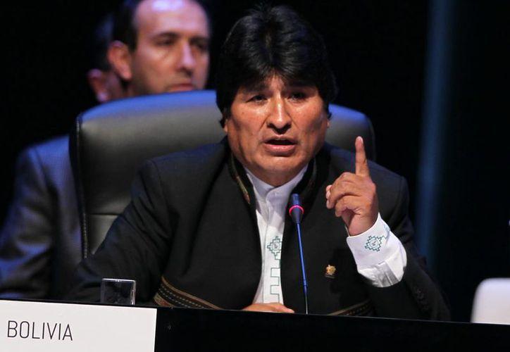 El presidente Evo Morales aseveró que 'no somos amigos del presidente Obama'. (EFE)