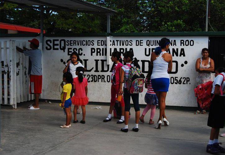 El mayor rezago en Quintana Roo es la atención a los niños de tres años. (Harold Alcocer/SIPSE)