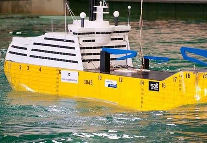 La nave, proyectada por la empresa noruega MARINTEK, se construye en los astilleros de Hyundai Heavy Industries. (marintek.com.tr)