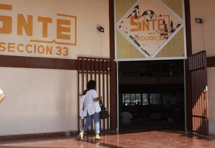 El sindicato de maestro vigilia el proceso para la asignación de bases. (Archivo/ Milenio Novedades)