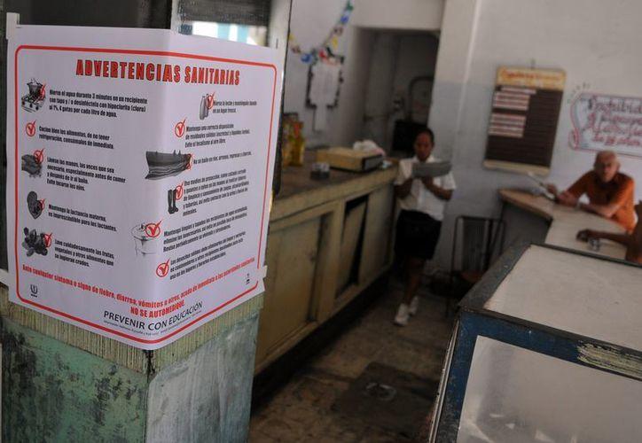 Cuba informó de que se han confirmado hasta ahora 51 casos de cólera a causa de un brote detectado a inicios de enero. (EFE)