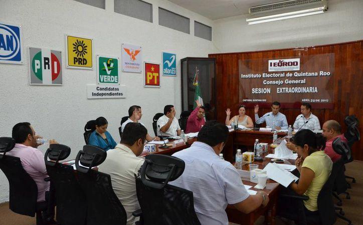 El Consejo General del Ieqroo aprobó los lineamientos para el desarrollo de las campañas políticas. (Redacción/SIPSE)