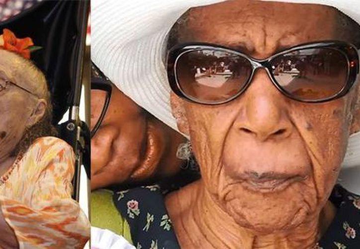 Gertrude Weaver (izq) festejó el viernes su cumpleaños 116, y Susannah Mushatt Jones cumplirá 115 años el 6 de julio. (Fotos de AP y actualidad.rt.com)