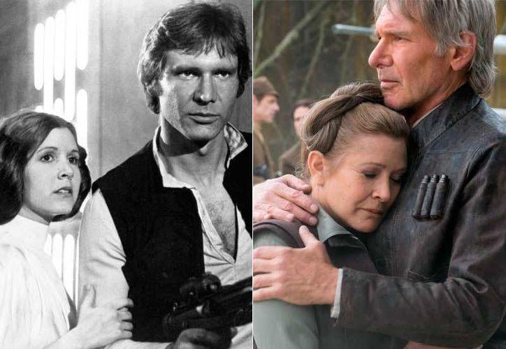 Para el cineasta Steven Spielberg Carrie Fisher 'no necesitaba de La Fuerza, ella era una fuerza de la amistad'. (Foto tomada de sensacine.com)