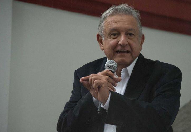 El anuncio lo dio López Obrador, durante una rueda de prensa desde su oficina de la colonia Roma. (vanguardia.com)