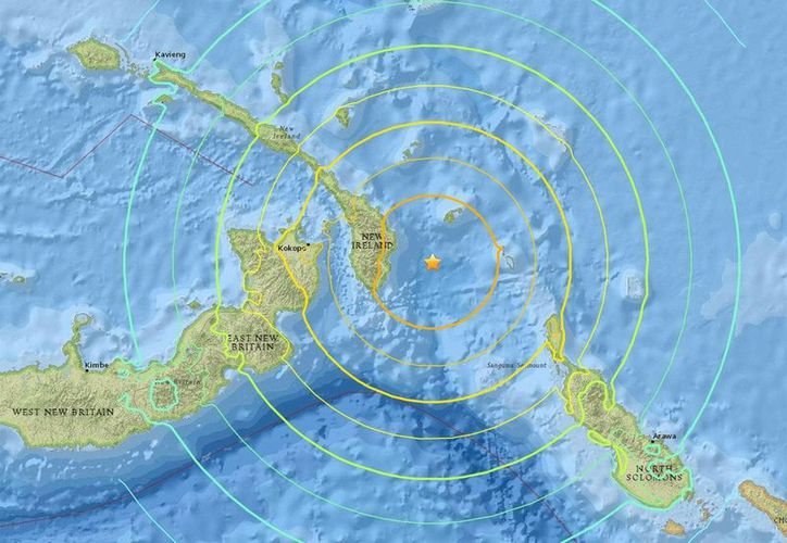 Papúa Nueva Guinea se encuentra en el zona conocidad por el Anillo de Fuego, una zona de fallas sísmicas en todo el océano Pacífico, donde los terremotos son comunes. (twitter.com/CodeAud)