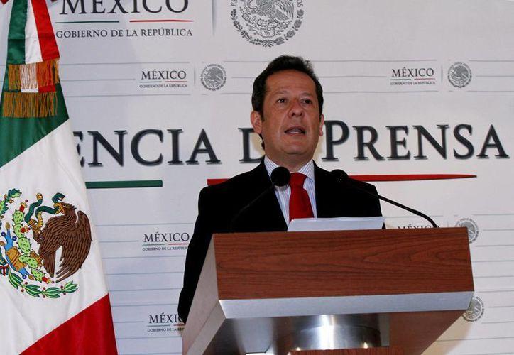 """Eduardo Sánchez calificó este momento como histórico en el que se atendió la """"debilidad del marco jurídico anterior"""". (Archivo/Notimex)"""