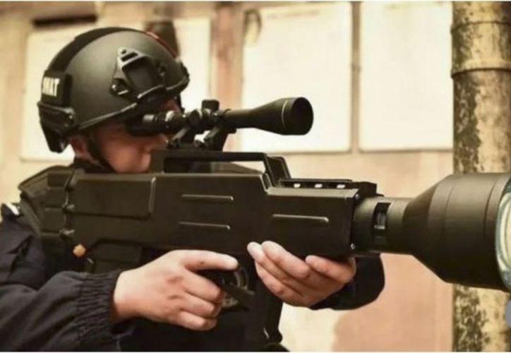 Esta arma puede convertirte en polvo en segundos. (Foto Internet)