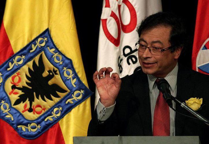En la imagen, el alcalde de Bogotá, Colombia, Gustavo Petro. (EFE/Archivo)