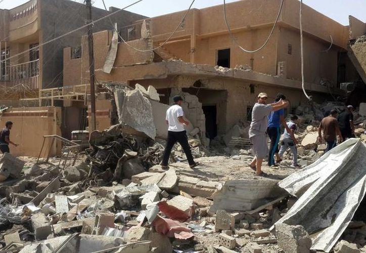 Imagen de contexto. El Estado Islámico ejecutó en Mosul a más de 300 personas en los últimos días, según denunció la coalición de milicias progubernamentales. (Archivo/Notimex)