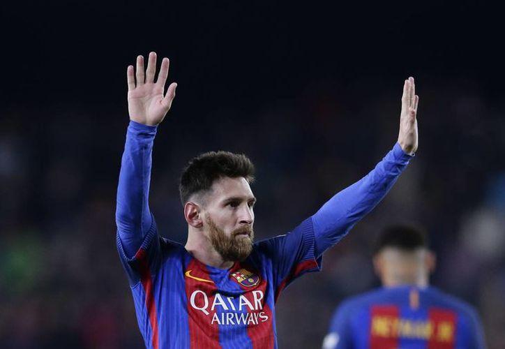 Lionel Messi recibió el reconocimiento por segunda ocasión en su carrera, luego que en 2015 también fue elegido como el más creativo del mundo.(Manu Fernández/AP)