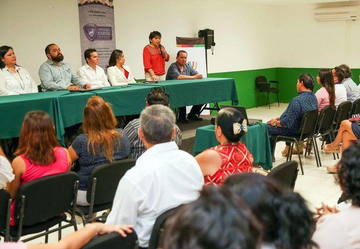 Emprendedores se suman a las acciones de seguridad y prevención en el Estado con el desafío 'Escudo Yucatán'. (Milenio Novedades)
