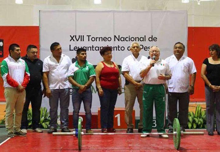Este viernes inició el Torneo Nacional de Levantamiento de Pesas 'Miguel Medina Gutiérrez', con la participacion de halteristas de varios estados del país. (Milenio Novedades)