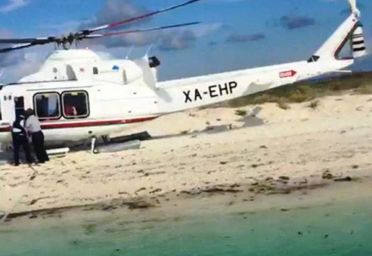 Tras el aterrizaje y embarque en el Arrecife Alacranes, los responsables deberán pagar una multa de más de 1.2 millones de pesos, determinó la Profepa. (Milenio Novedades)