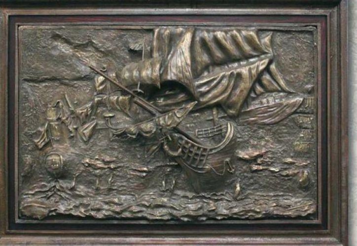 """La muestra de los """"Piratas de los mares"""" contará con gran variedad de relieves. (Redacción/SIPSE)"""