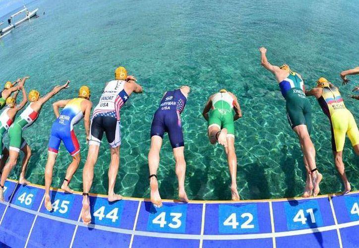 El Campeonato Mundial de Triatlón de Cozumel se llevará a cabo del 11 al 18 de septiembre. (www.triatlonline.com.mx)