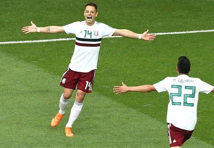Chicharito es gran goleador de la Selección Mexicana (foto MedioTiempo)