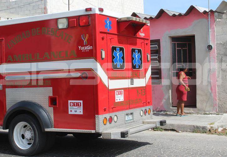 El intento de suicidio se presentó en un hogar del puerto de Progreso. (G. Keb/ Milenio Novedades)